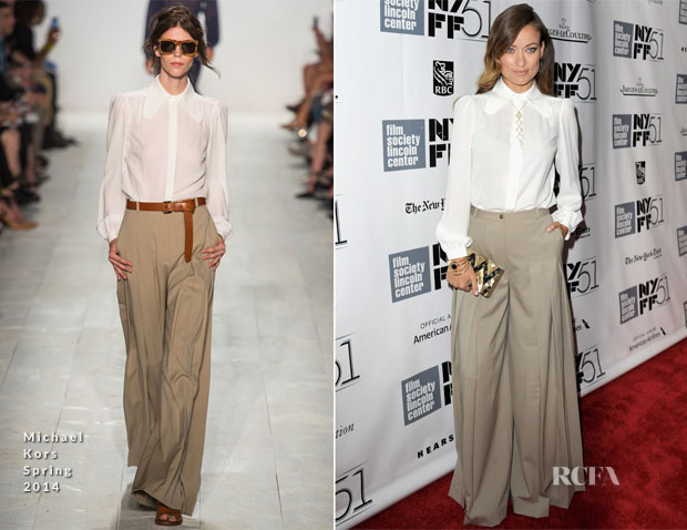 Olivia Wilde In Michael Kors - 'Her' New York Film Festival Screening