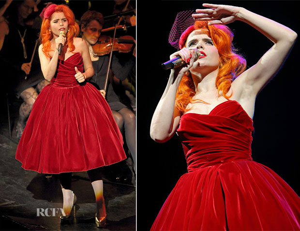 Paloma Faith In Dolce & Gabbana - Symphonic Grace Tour