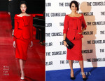 Penelope Cruz In Nina Ricci - 'The Counselor' London Photocall