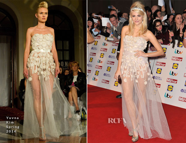 Pixie Lott In Yuvna Kim - 2013 Pride of Britain Awards