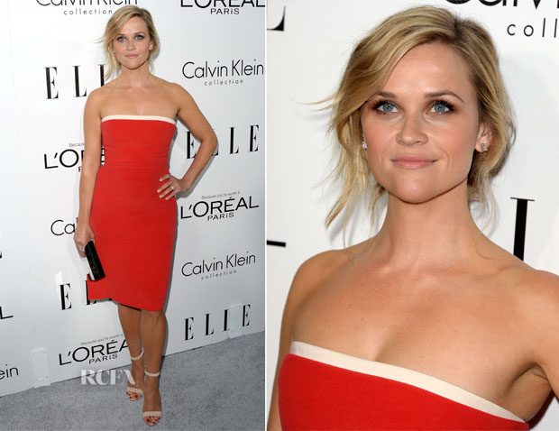 Reese Witherspoon In Calvin Klein - ELLE's 20th Annual Women In Hollywood Celebration