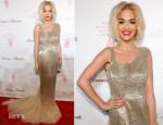 Rita Ora In Donna Karan Atelier - Angel Ball 2013