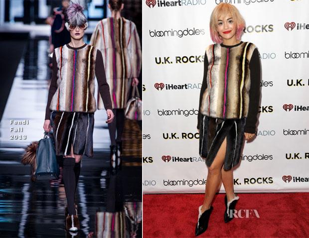 Rita Ora In Fendi  - iHeartRadio LIVE