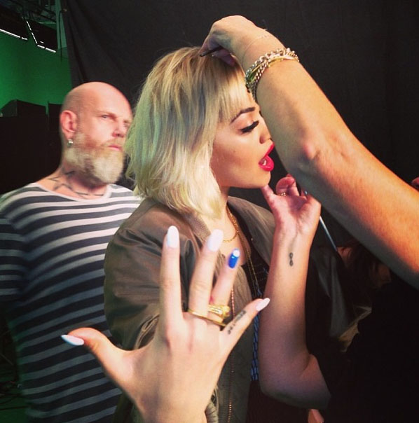 Rita Ora - Rimmel London Shoot