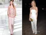 Rosie Huntington-Whiteley In Antonio Berardi - Vogue CFDA Fashion Fund Dinner