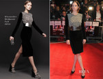 Ruth Wilson In Alexander McQueen - 'Locke' London Film Festival Premiere