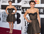 Samantha Barks In Miu Miu - Classic BRIT Awards 2013