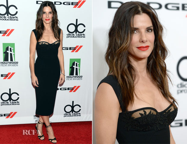 Sandra Bullock In Dsquared² - 2013 Hollywood Film Awards