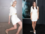 Sandra Bullock In Giambattista Valli - 'Gravity' New York Premiere