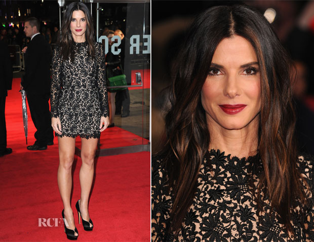 Sandra Bullock In Stella McCartney –  'Gravity' London Film Festival Premiere