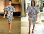 Solange Knowles In Christian Siriano - Vogue Fashion Dubai Experience