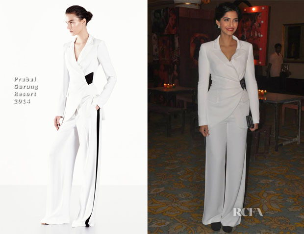 Sonam Kapoor In Prabal Gurung - Tata Medical Center Fundraiser