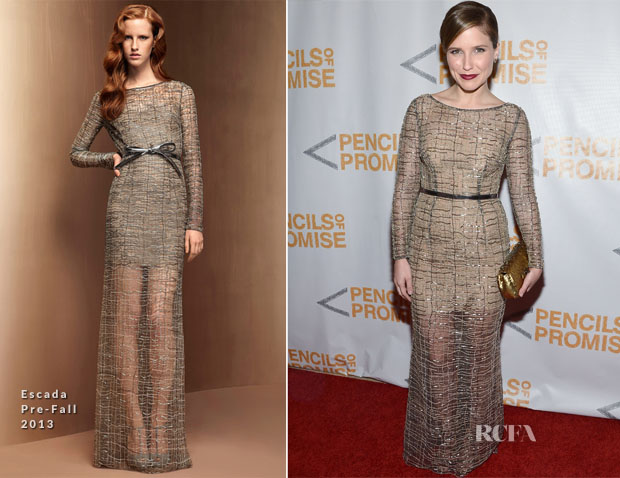 Sophia Bush In Escada -  3rd Annual Pencils of Promise Gala