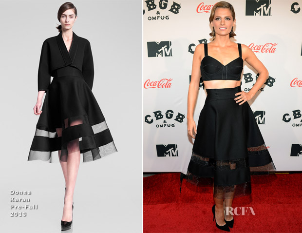 Stana Katic In Donna Karan - 'CBGB' New York Premiere