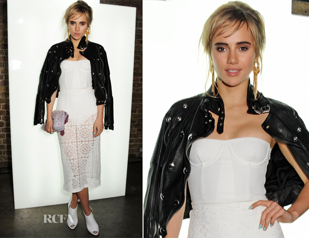 Suki Waterhouse In Burberry Prorsum - Burberry Brit Rhythm Gig