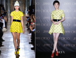 Sun Li In John Galliano - Jimmy Choo Shanghai Event