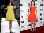 Taissa Farmiga In Rebecca Minkoff - 'American Horror Story: Coven' LA Premiere