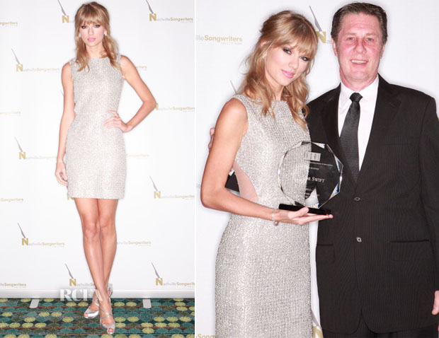 Taylor Swift In Houghton 2013 Songwriter Artist Of The Year Red Carpet Fashion Awards