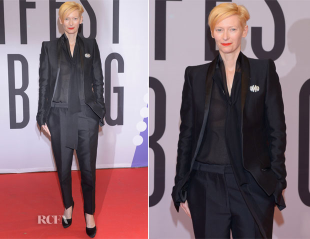 Tilda Swinton In Haider Ackermann - Hamburg Film Festival
