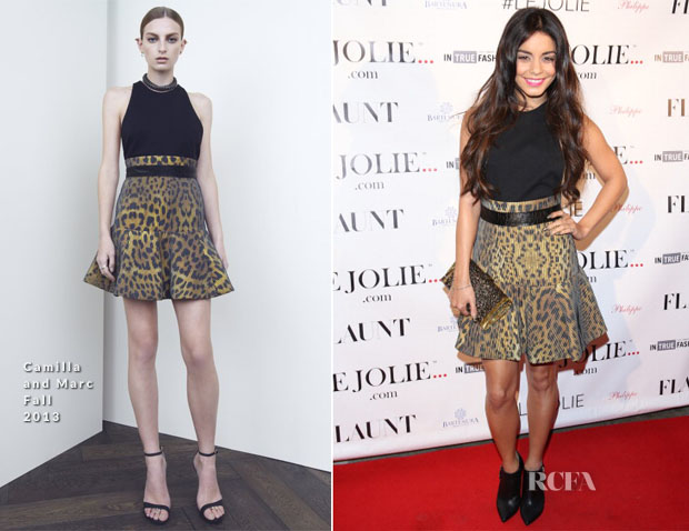 Vanessa Hudgens In Camilla and Marc - LeJolie com Launch Party