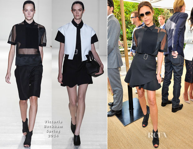 Victoria Beckham In Victoria Beckham - CFDA Vogue Fashion Fund Event