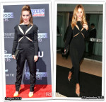 Who Wore Stella McCartney Better...Alyssa Milano or Rosie Huntington-Whiteley?