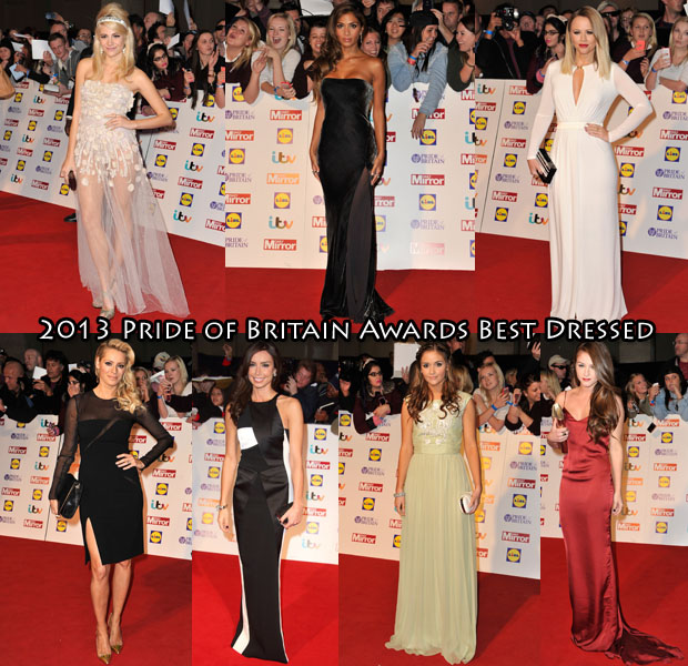 Who Was Your Best Dressed At The 2013 Pride of Britain Awards 2