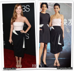 Who Wore Christian Dior Better...Ahna O'Reilly or Angelababy?