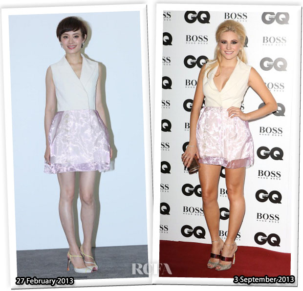 Who Wore Christian Dior Better Sun Li or Pixie Lott