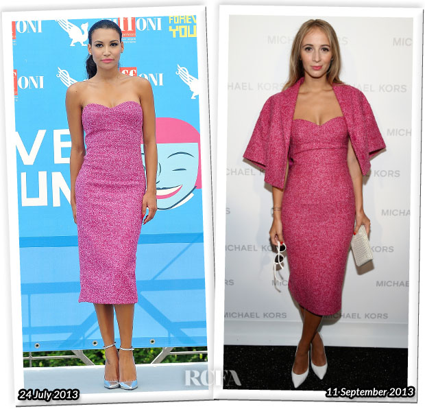 Who Wore Michael Kors Better Naya Rivera or  Harley Viera-Newton