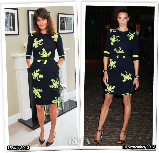 Who Wore Preen Better Helena Christensen or Jodi Kidd