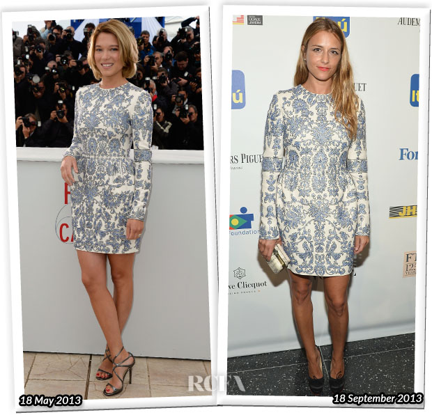Who Wore Valentino Better Lea Seydoux or Charlotte Ronson