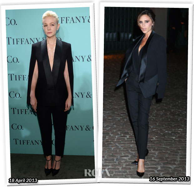 Who Wore Victoria Beckham Better Carey Mulligan or Victoria Beckham