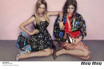 Léa Seydoux and Adèle Exarchopoulos for Miu Miu Resort 2014