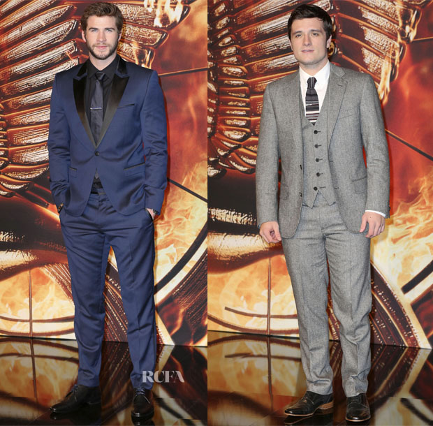 'The Hunger Games Catching Fire' Berlin Premiere Menswear Roundup