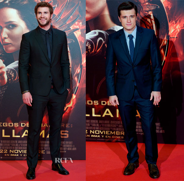 'The Hunger Games Catching Fire' Madrid Premiere Menswear Roundup