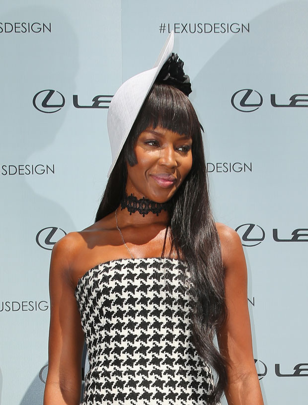 Naomi Campbell in Christian Dior