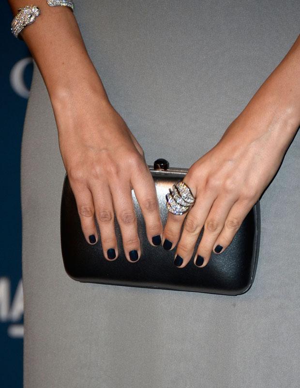 Camilla Belle's Gucci clutch