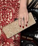Kat Dennings' Edie Parker clutch