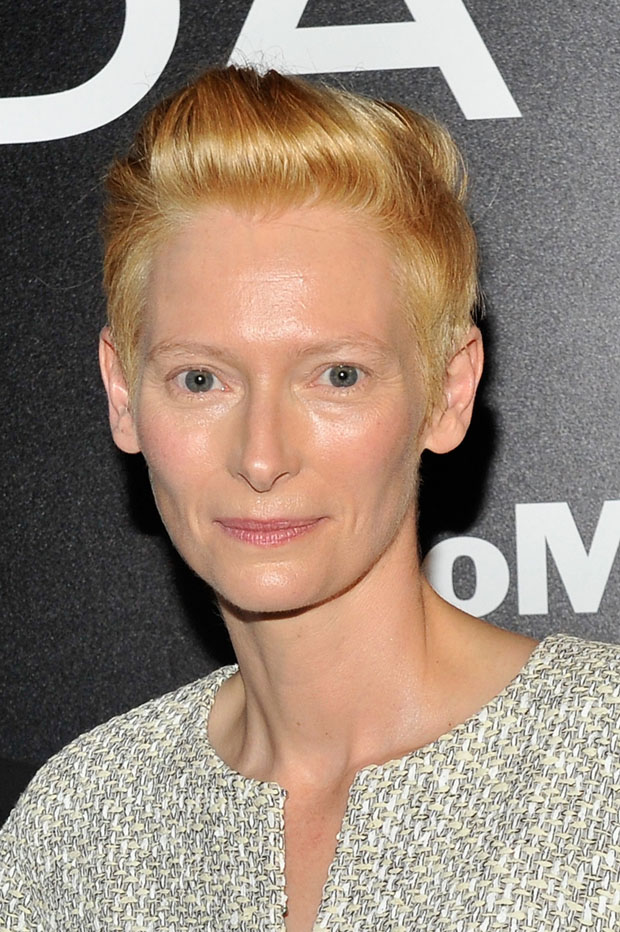 Tilda Swinton in Chanel