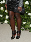 Lupita Nyong'o's Chanel clutch and Louboutin sandals