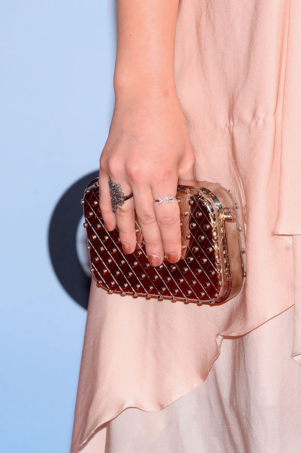 Lucy Hale's clutch
