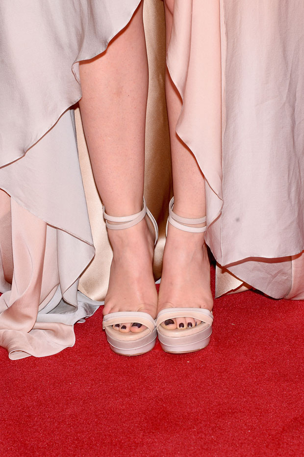 Lucy Hale's sandals