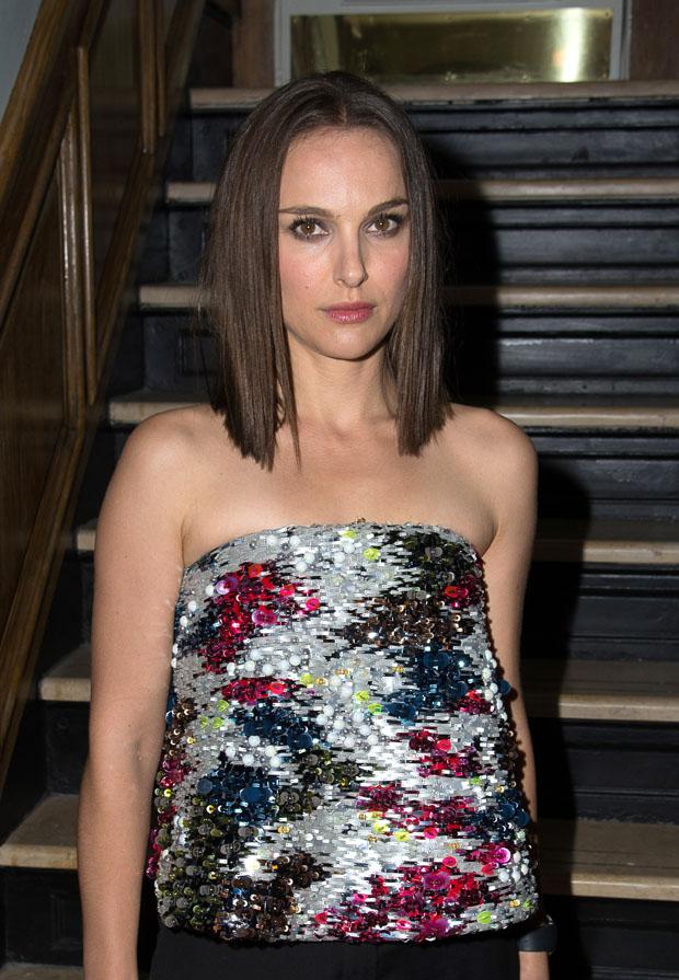 Natalie Portman in Dior Couture