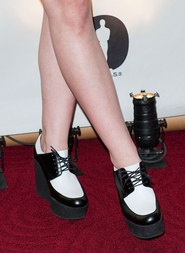 Elle Fanning's Celine shoes