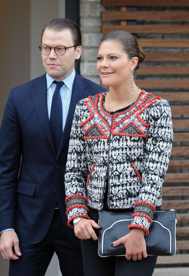 Princess Victoria of Sweden in Isabel Marant pour H&M