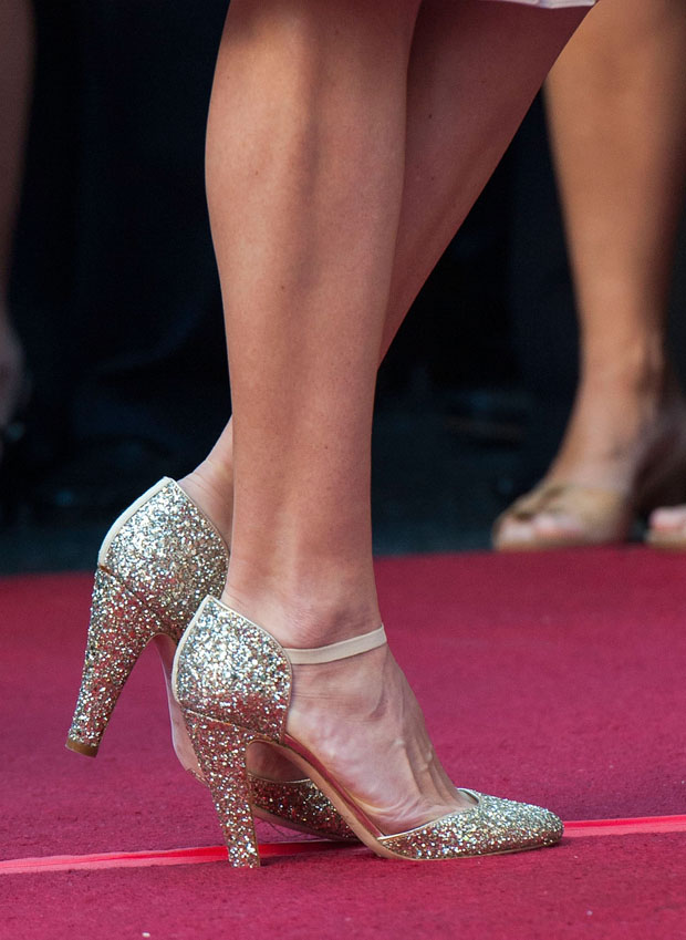 Hilary Swank's shoes