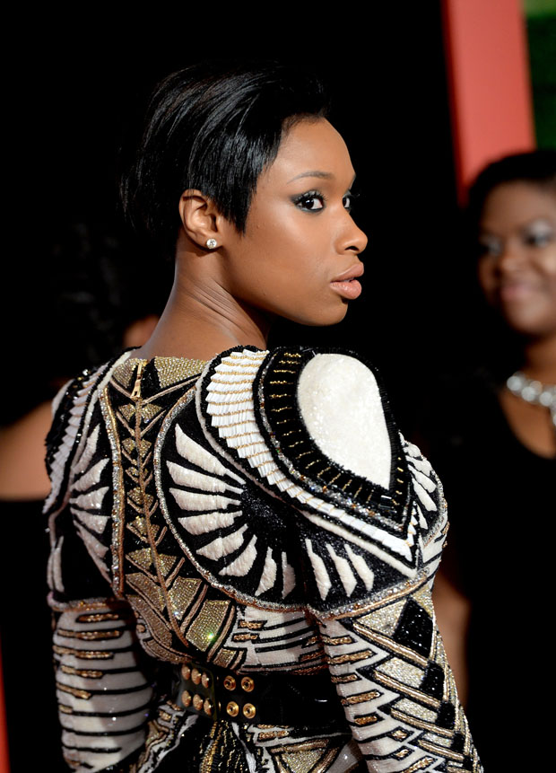 Jennifer Hudson in Balmain