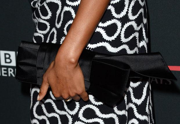Naomie Harris' clutch