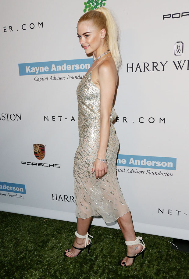 Jaime King in Jason Wu